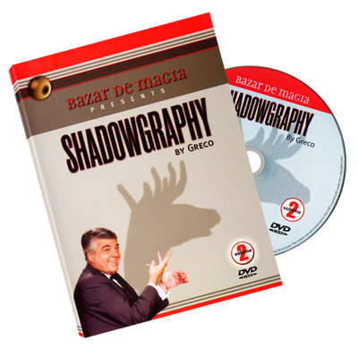 Shadowgraphy Volume 2 DVD - Carlos Greco by Bazar de Magia - DVD