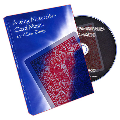 Acting - Naturally (Card Magic) by Allen Zingg - DVD