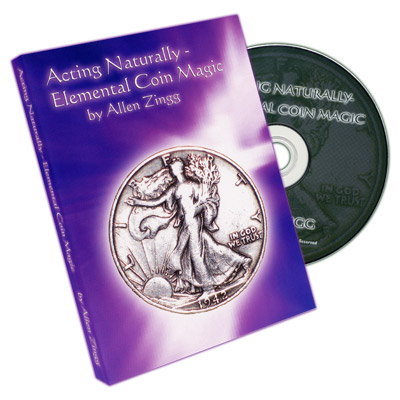 Acting Naturally - Elemental Coin Magic by Allen Zingg - DVD
