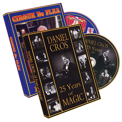 25 Years of Magic and Cirque Du Flea (2 DVD set) by Daniel Cros - DVD