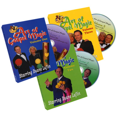 Art Of Gospel Magic (3 DVD Set) by Duane Laflin - DVD