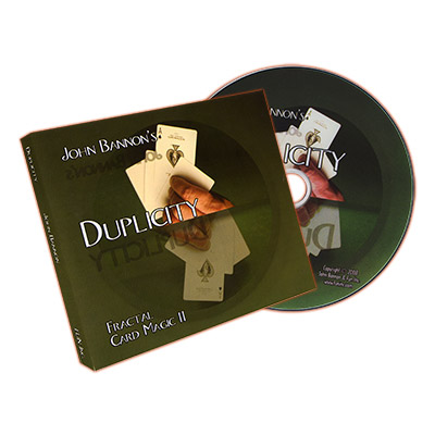 Duplicity (Cards and DVD) by John Bannon - DVD