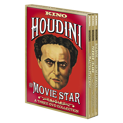 Houdini: The Movie Star (3 DVD Set) - DVD