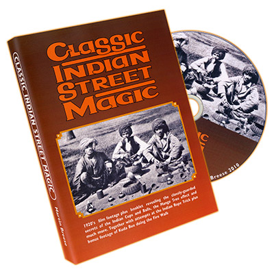 Classic Indian Street Magic (Book and DVD) by Martin Breese - DVD