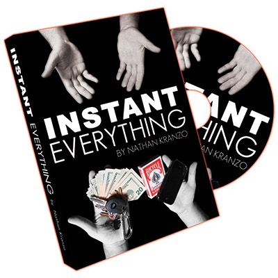 ***Instant Everything by Nathan Kranzo - DVD