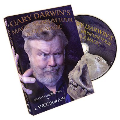 Magic Museum Tour & Silk Magic By Gary Darwin - DVD