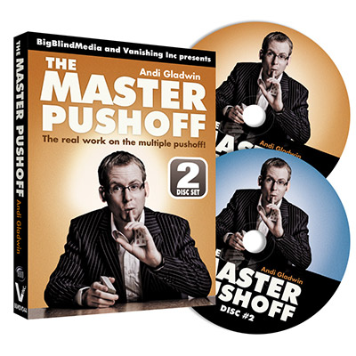 The Master Pushoff by Andi Gladwin & Big Blind Media - DVD