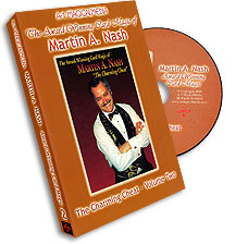 Award Winning Card Magic of Martin Nash - A-1- #2, DVD