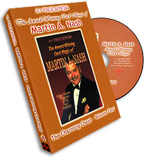 Award Winning Card Magic of Martin Nash - A-1- #4, DVD