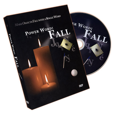 Power Word: Fall (Gimmicks and DVD) by Matt Sconce - DVD