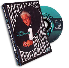 Encore Performance by Roger Klause - DVD