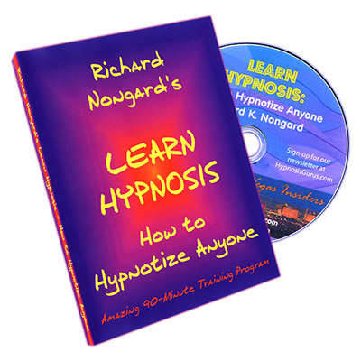 ***Learn Hypnosis by Richard Nongard - DVD