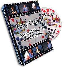 Award Winning Card Routine Tony Clark, DVD