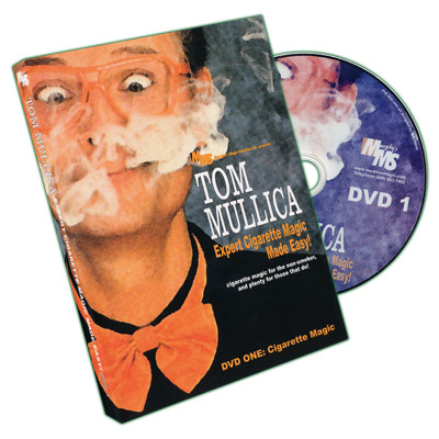 Expert Cigarette Magic Made Easy - Vol.1 by Tom Mullica - DVD