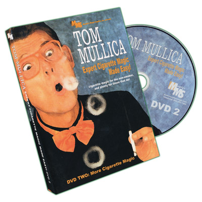 Expert Cigarette Magic Made Easy - Vol.2 by Tom Mullica - DVD