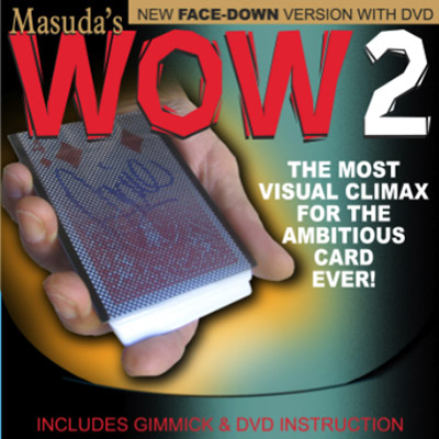Wow 2.0 (Face Down Version and DVD) by Masuda - DVD