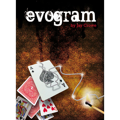 Evogram (Eight of Hearts) by Jay Crowe & Eureka Magic - Trick
