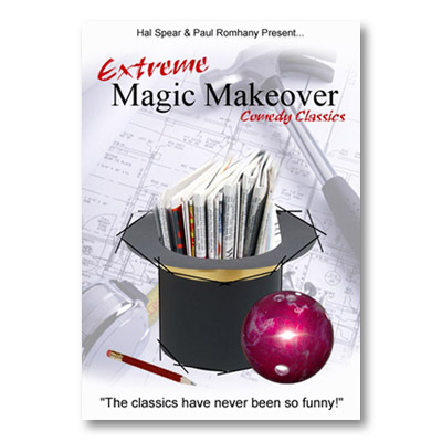 Extreme Magic Makeover by Hal Spear and Paul Romhany - Book