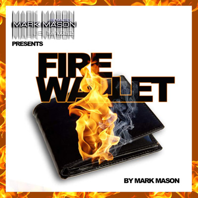 Fire Wallet by Mark Mason and JB Magic - Trick