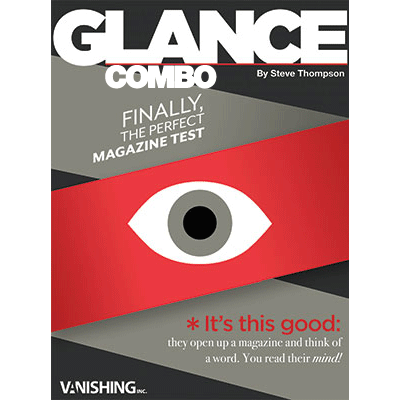 Glance Combo (Two different magazines) by Steve Thompson - Trick
