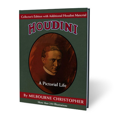 Houdini Book: Collector's Edition by Milbourne Christopher - Book