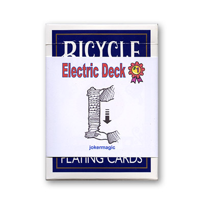 Electric Deck (Blue Bicycle) by Joker Magic - Trick