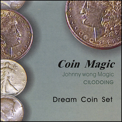 Dream Coin Set (with DVD) by Johnny Wong - Trick