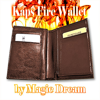 Kaps Fire Wallet (BROWN) - Trick