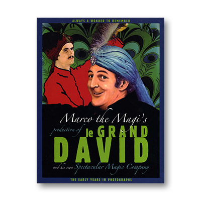 Marco the Magi's Production of le Grand David and his own Spectacular Magic by Webster Bull - Book