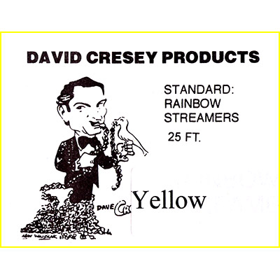 Mouth Coil 25 Ft Cresey (Yellow) - Trick