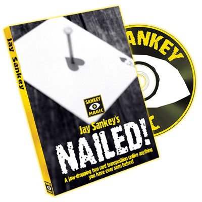 Nailed (with DVD) by Jay Sankey - Trick