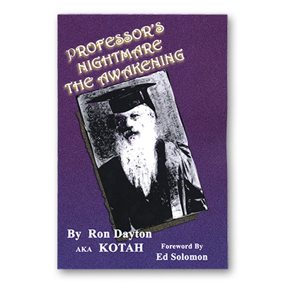 Professor's Nightmare The Awakening by Ron Dayton - Book
