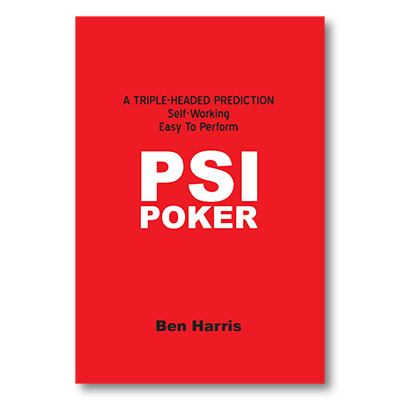 PSI-Poker by Ben Harris - Book