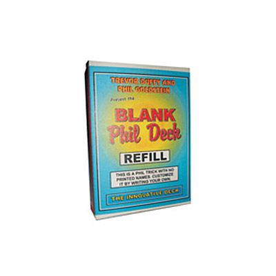 Refill for Blank Phil Deck by Trevor Duffy - Tricks