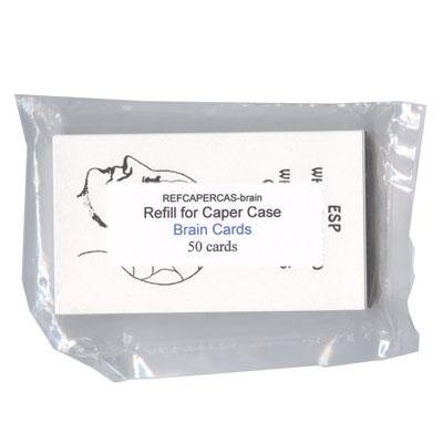 Refill for Caper-Case (Brain Cards) by Ray Piatt - Trick