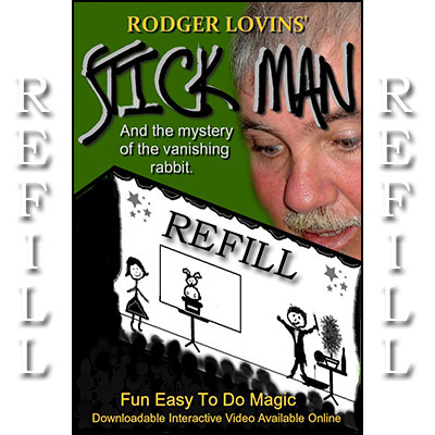 Refill for Stick Man by Rodger Lovins - Trick