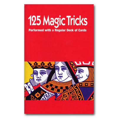***125 Tricks with Cards booklet Royal Magic