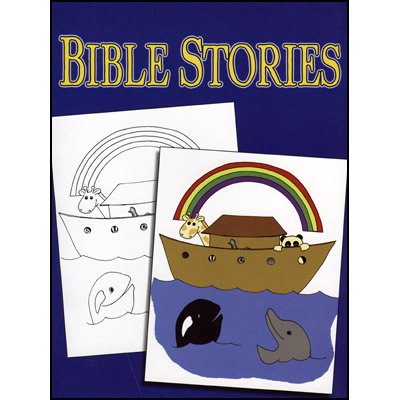 ***3 Way Coloring Book - Bible - Trick