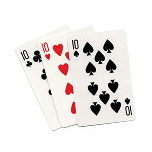***3 Card Monte (Blank) by Royal Magic - Trick