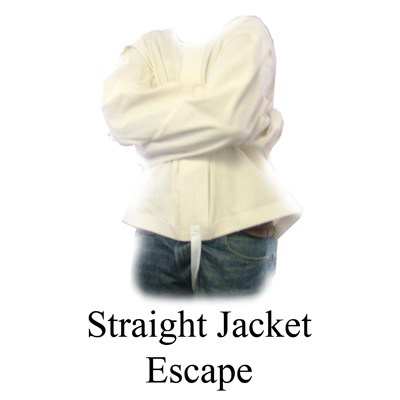 Straight Jacket Escape by Ronjo Magic - Trick