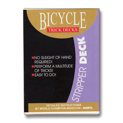 ***Stripper Deck Bicycle (Red) - Trick