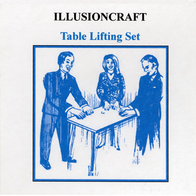 Table Lifting Set by Illusion Craft - Trick
