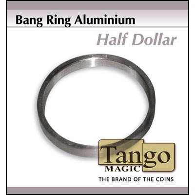 Bang Ring Half Dollar Aluminum by Tango -Trick (A0009)