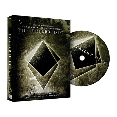 The Trilby Deck (DVD and Gimmick) by Liam Montier and Big Blind Media