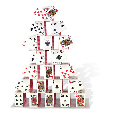 "Card Castle (17"") by Uday - Trick"